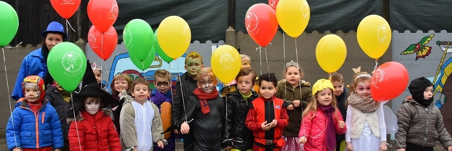 Carnaval wijkschool Jan Rosier Lanaken